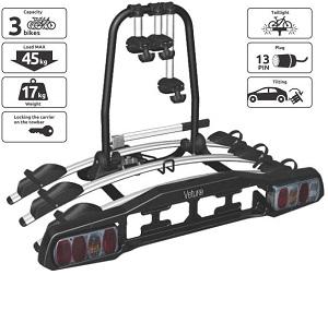 Платформа для перевозки 3-х велосипедов на фаркопе Veturo-3