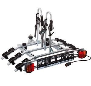 Платформа для перевозки 3-х велосипедов на фаркопе AMOS TYTAN-3 PLUS