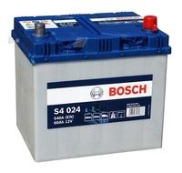Аккумулятор BOSCH Silver 60 А/ч обратная R+ EN 540A 232x173x225