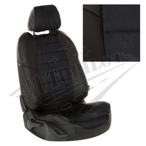 Авточехлы на сидения для Mazda CX-5 (три отд. кресла) Touring, Active с 11-17г. - черн+альк. черная