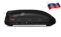 Автомобильный бокс Turino Compact 360 (142*83*45) черный матовый