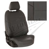 Авточехлы на сидения для Hyundai Porter I (3 места) - темно серые