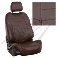 Авточехлы на сидения для Hyundai Porter I (3 места) - шоколад