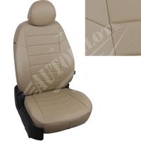 Авточехлы на сидения для Hyundai Porter I (3 места) - темно бежевый