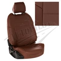 Авточехлы на сидения для Ford Tourneo I (2 места) с 03-13г. - темно коричневый