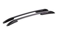 Рейлинги на крышу для Hyundai Solaris Хэтчбек профиль с пазом, черные арт.0262-02