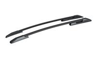 Рейлинги на крышу для Hyundai Creta профиль с пазом, черные