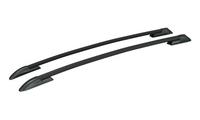Рейлинги на крышу для Toyota RAV4 (III) 2006-2013 гг. профиль с пазом, черные