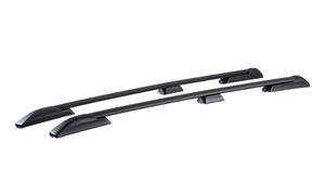 Рейлинги на крышу АПС для Toyota Land Cruiser Prado 150 с 2009 года, черные