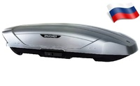 Автомобильный бокс Broomer Venture L 430 (187*89*40) серый матовый