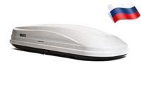 Автомобильный бокс Евродеталь Магнум 420 (199*74*42) белый глянец