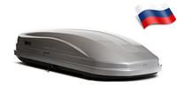 Автомобильный бокс Евродеталь Магнум 420 NEW (199*74*42) серый глянцевый