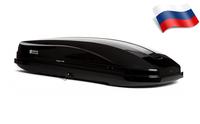 Автомобильный бокс Евродеталь Магнум 420 NEW (199*74*42) черный глянец