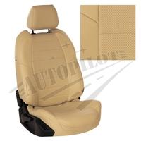 Авточехлы на сидения для Hyundai Porter I (3 места) - бежевый