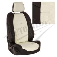 Авточехлы на сидения для Ford Tourneo I (2 места) с 03-13г. - черный+белый