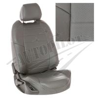 Авточехлы на сидения для Ford Tourneo I (2 места) с 03-13г. - серые