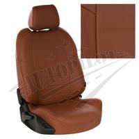 Авточехлы на сидения для Hyundai Porter I (3 места) - коричневый