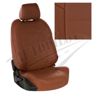 Авточехлы на сидения для Hyundai Tucson I c 04-10г./ Kia Sportage II c 04-08г. - коричневый
