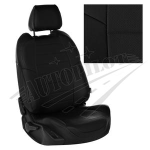 Авточехлы на сидения для Hyundai Tucson I c 04-10г./ Kia Sportage II c 04-08г. - черные