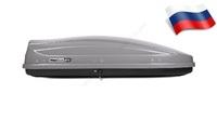 Автомобильный бокс MaxBox PRO 460 (средний) (175*84*42) серый матовый
