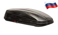 Автомобильный бокс Satellite 460 (179*82*45) черный глянцевый