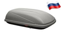 Автомобильный бокс Satellite 400 (139*88*38) серый матовый