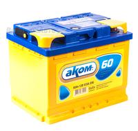 Аккумулятор АКОМ 60 А/ч прямая L+ EN 520A 242x175x190
