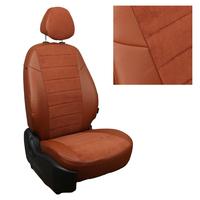Авточехлы на сидения для Mazda CX-5 (три отд. кресла) Touring, Active с 11-17г. - кор+альк.коричневая