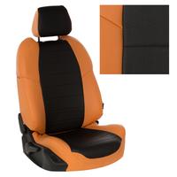 Авточехлы на сидения для Авточехлы на сидения для Mazda CX-5 (три отд. кресла) Touring, Active с 11-17г. - оранжевый+черный