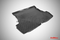 Коврик в багажник полиуретановый Seintex для CHERY Bonus 3 2013-