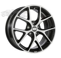 BBS SR023 8*18 5/114,3 ET50 d82 Vulcano Grey Diamond Cut