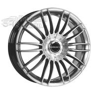 Borbet CW3 10,5*21 5/120 ET35 d72,5 Sterling Silver