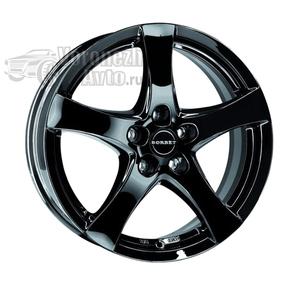 Borbet F 6,5*16 5/112 ET38 d72,5 Black glossy