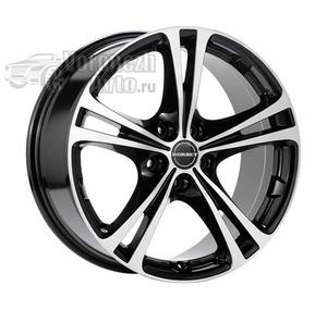 Borbet XL 8*18 5/112 ET35 d72,5 Black polished glossy