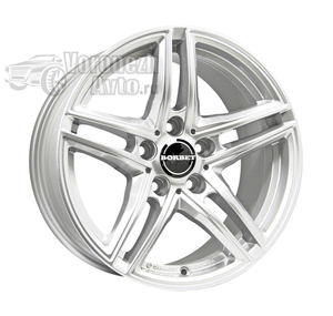 Borbet XRT 8*17 5/112 ET40 d72,5 Brilliant silver