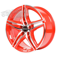 Borbet XRT 8*18 5/114,3 ET45 d72,5 Red Front Polished