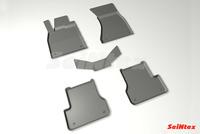 Резиновый коврик Seintex с бортиком для AUDI A6 IV (C7) 2011-