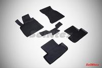 Резиновый коврик Seintex с бортиком для AUDI Q5 2010-