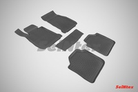 Резиновый коврик Seintex с бортиком для BMW 3 Ser F-34 GT 2011-