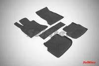 Резиновый коврик Seintex с бортиком для BMW 5 Ser F-10 2010-2013