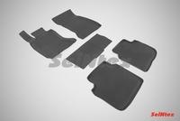 Резиновый коврик Seintex с бортиком для BMW 7 Ser F-02 2008-2015