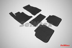 Резиновый коврик Seintex с бортиком для BMW 7 Ser G-12 4WD 2015-