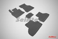 Резиновый коврик Seintex с бортиком для BMW X6 F-16 2014-