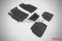 Резиновый коврик Seintex с бортиком для Chevrolet LACETTI 2004-2013