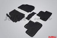 Резиновый коврик Seintex с бортиком для Chevrolet ORLANDO 2011-
