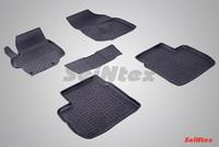 Резиновый коврик Seintex с бортиком для CITROEN C-Elysse 2013-
