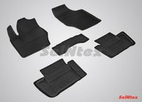 Резиновый коврик Seintex с бортиком для CITROEN C4 sedan 2008-