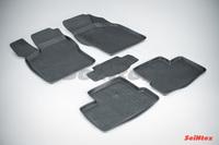 Резиновый коврик Seintex с бортиком для Daewoo NEXIA (CLETN) 1994-