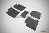 Резиновый коврик Seintex с бортиком для Dongfeng H30/H30 Cross 2014-
