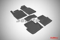 Резиновый коврик Seintex с бортиком для Ford ECOSPORT 2014-